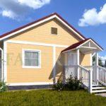 Каркасный дом 6х6 – фото 2