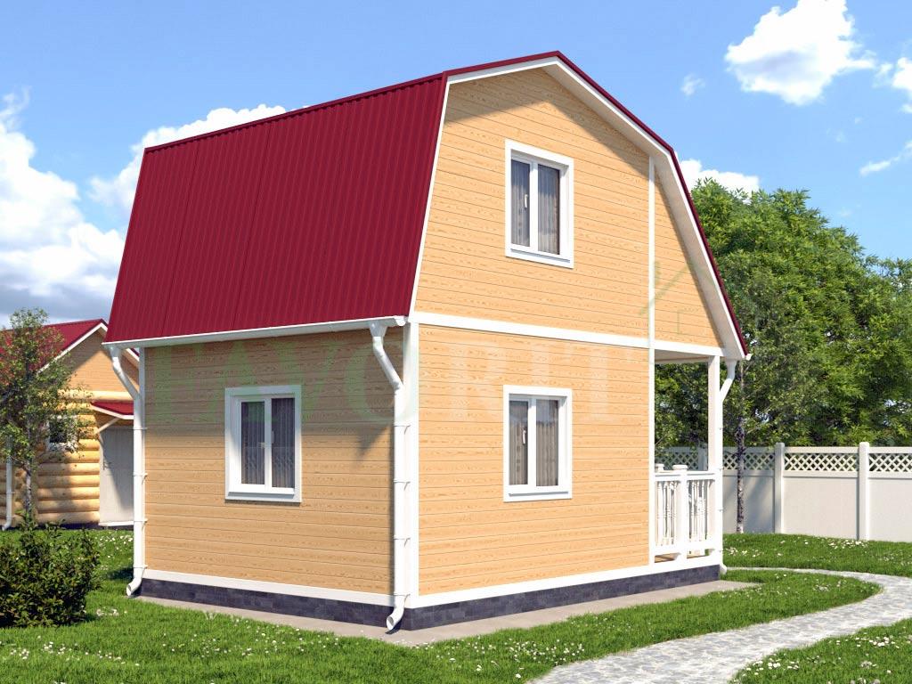 Karkasnyiy-dom-4×4—-201-vid-2