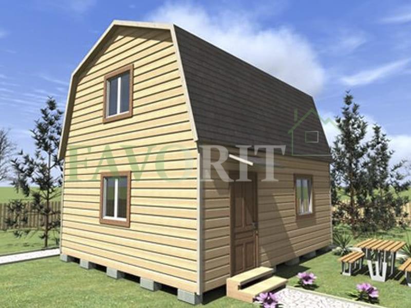 Каркасный дом 5х5 2 этажа – фото