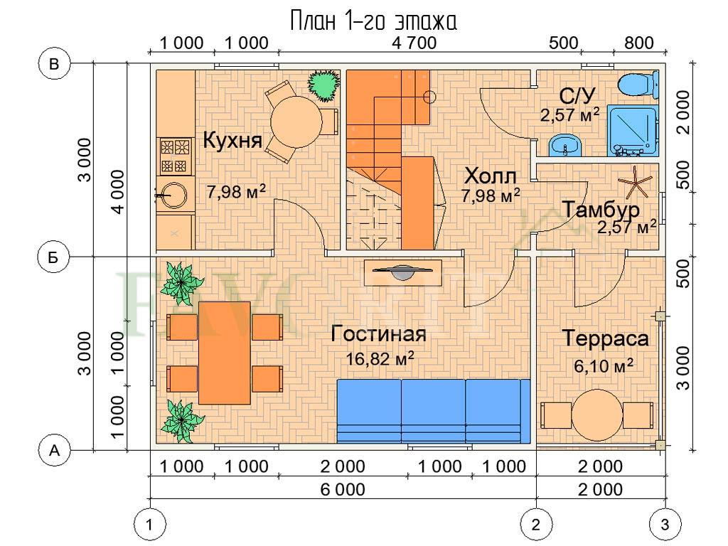 Karkasnyiy-kottedzh-6×8—-005-plan-1-e`tazha